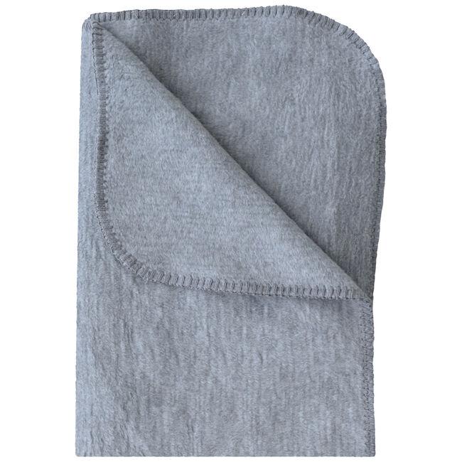 Prénatal ledikantdeken grijs melange - Grey Melee Light