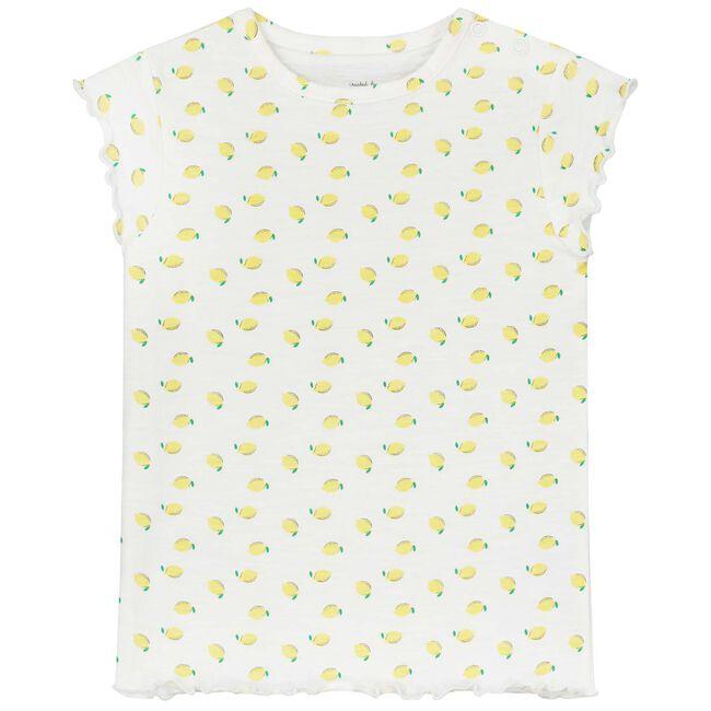 Prénatal baby meisjes T-shirt - Lemonyellow