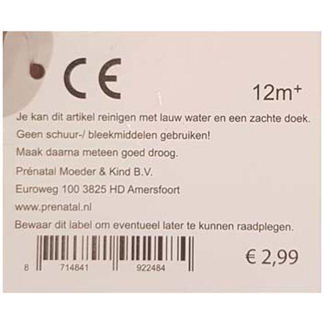Prenatal houten namentrein letter E - Multi