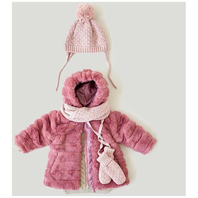 Prenatal baby meisjes muts - Violet Pink