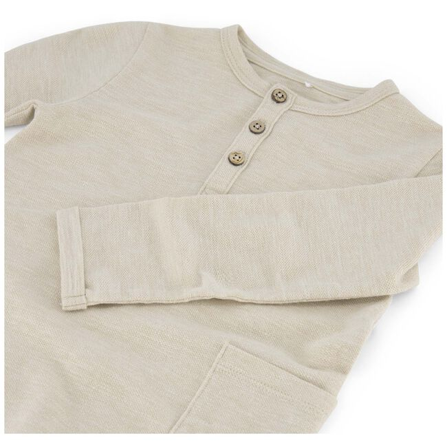 Prénatal baby shirt - Light Brown Melange