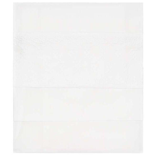Prénatal wieglaken broderie - White