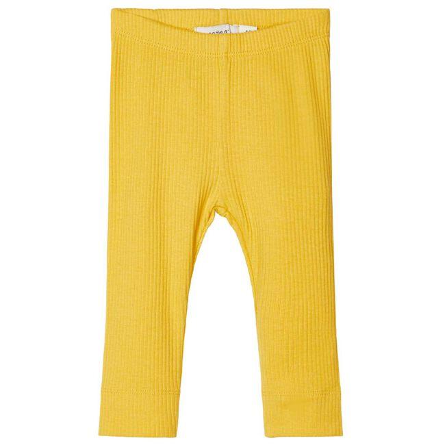 Name it meisjes legging - Midyellow