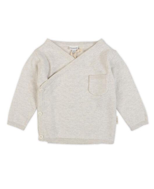Prenatal Pure overslag vest - Off-White