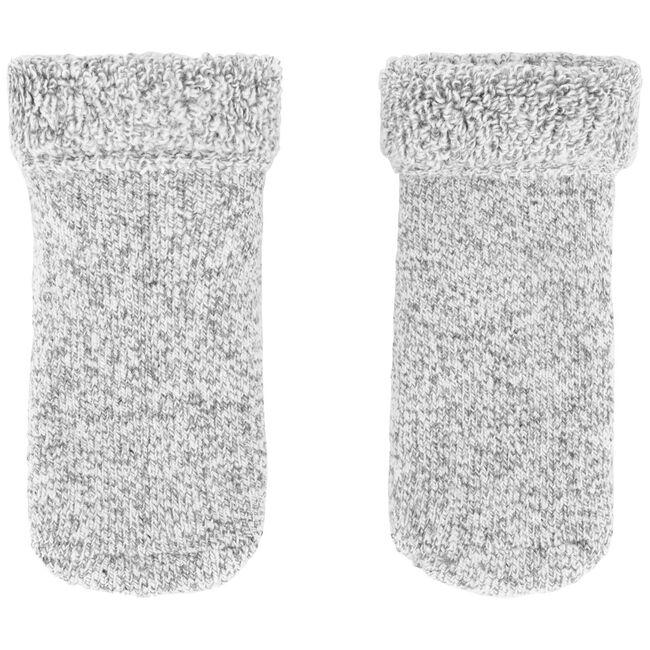 Prenatal peuter unisex antislip sokken - Grey Melee Light