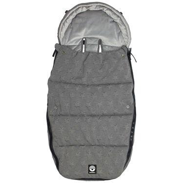 Dooky voetenzak groot - Knitted Grey Star