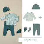 Shop the look - shirt, broek en mutsje -