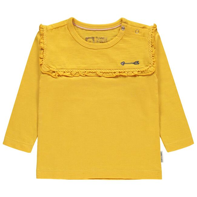 Tumble N Dry peuter meisjes T-shirt - Lemonyellow