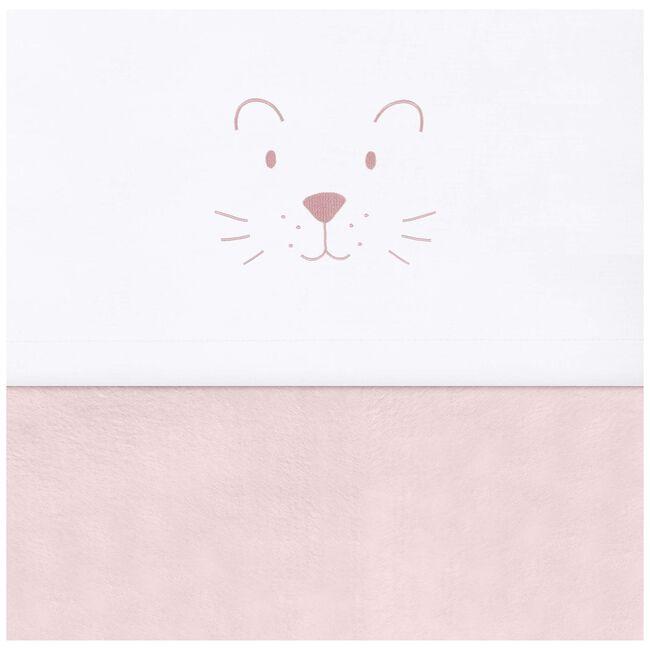 Jollein wieglaken little lion - Soft Pink
