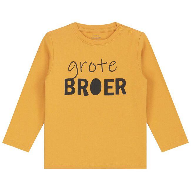 Prenatal peuter jongens t-shirt - Spice Yellow