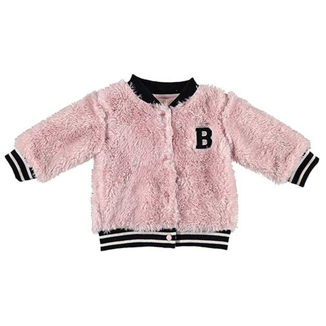 Bess meisjes jas - Light Pink