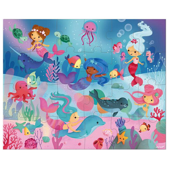 Janod puzzel zeemeerminnen -