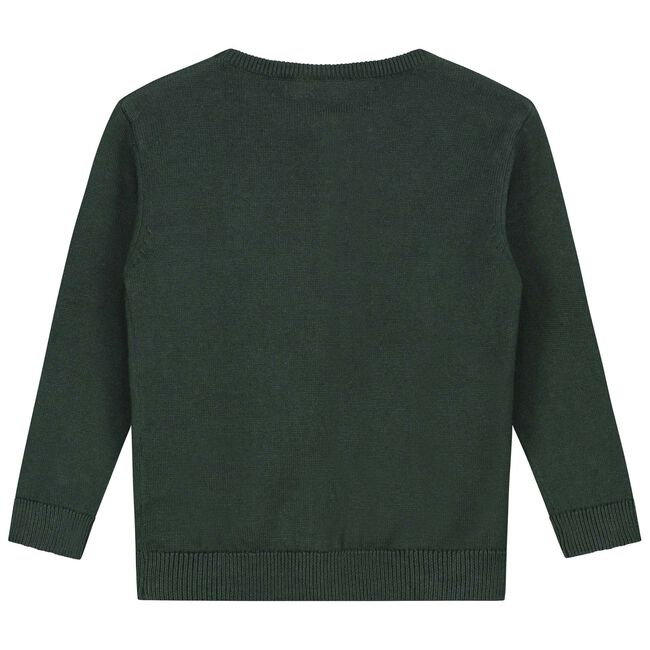 Prénatal peuter meisjes vest - Dark Green Blue