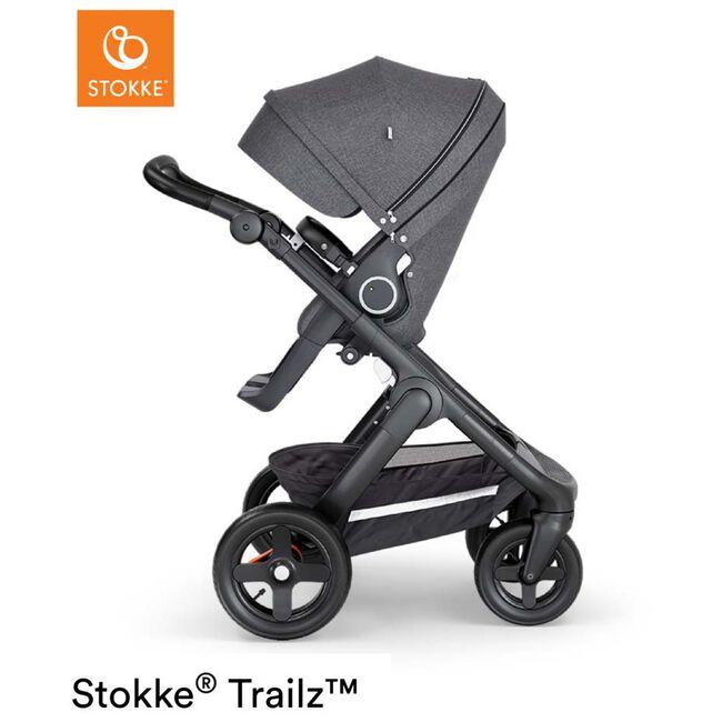 Stokke Trailz 2019 - Black Melange (Black Leather)