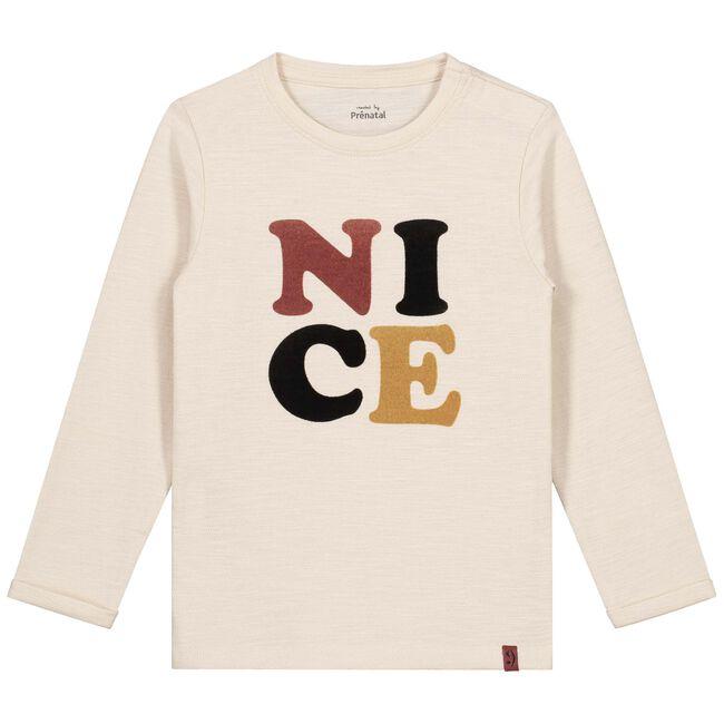 Prénatal peuter jongens t-shirt - Light Brown Melange