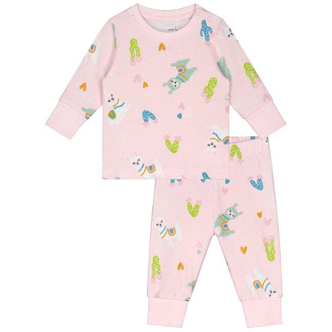 Prenatal baby meisjes pyjama Lama - Skin Piink