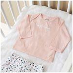 Prenatal newborn meisjes shirtje - Blossom Pink
