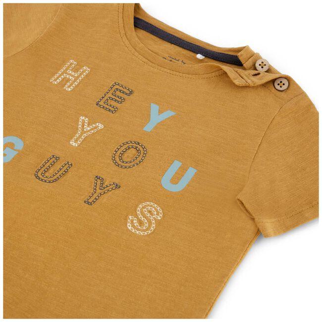 Prénatal baby peuter t-shirt - Dark Sienna