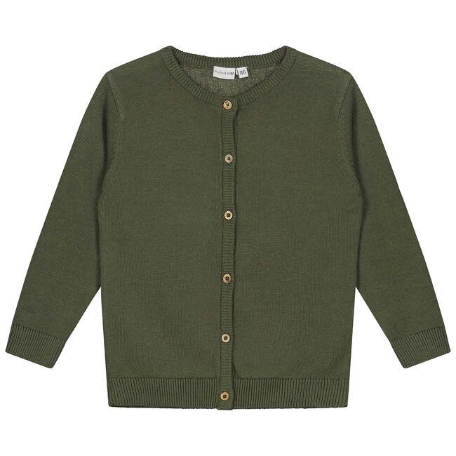 Prénatal peuter meisjes vest - Olivegreen