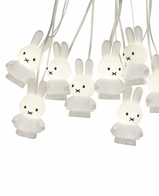 Nijntje lichtjesslinger wit - White