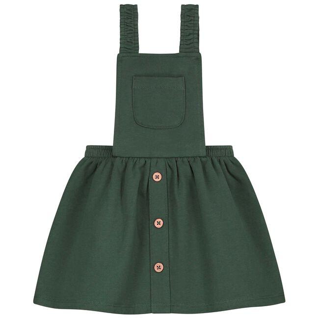 Prénatal peuter meisjes jurk - Dark Green Blue