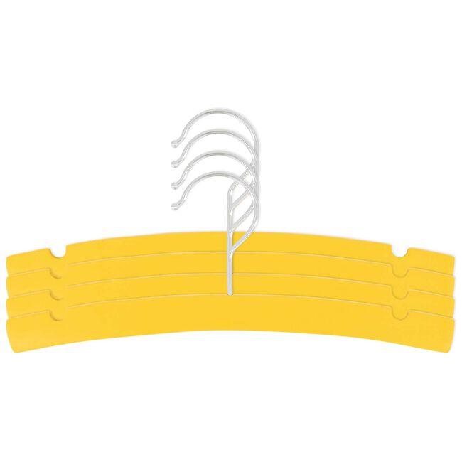 Prénatal kledinghanger hout 4 stuks - Spice Yellow