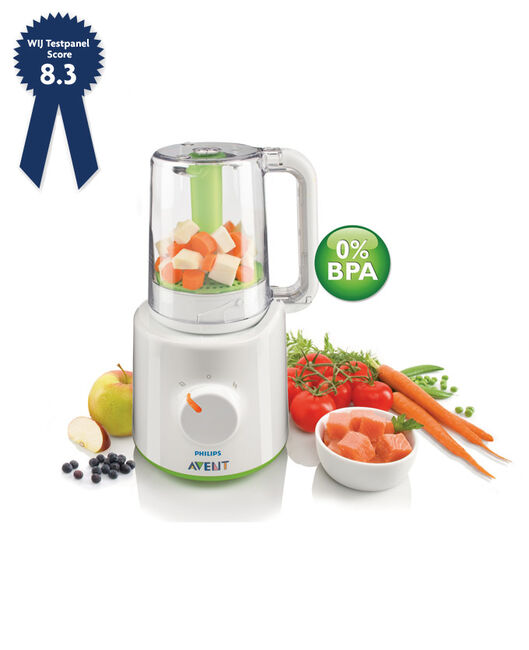 Philips Avent stomer-blender 2 in 1 - Geen Kleurcode