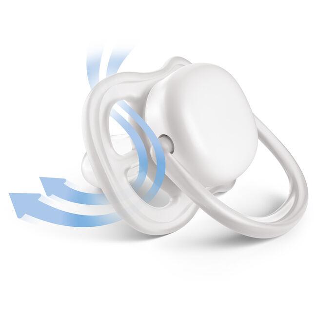 Philips Avent Ultra Air fopspeen 0-6 maanden 2-pack - SCF345/20 -