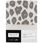 Meyco wieglaken panter - Beigebrown