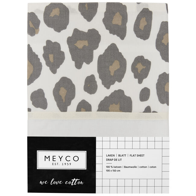 Meyco wieglaken panter -