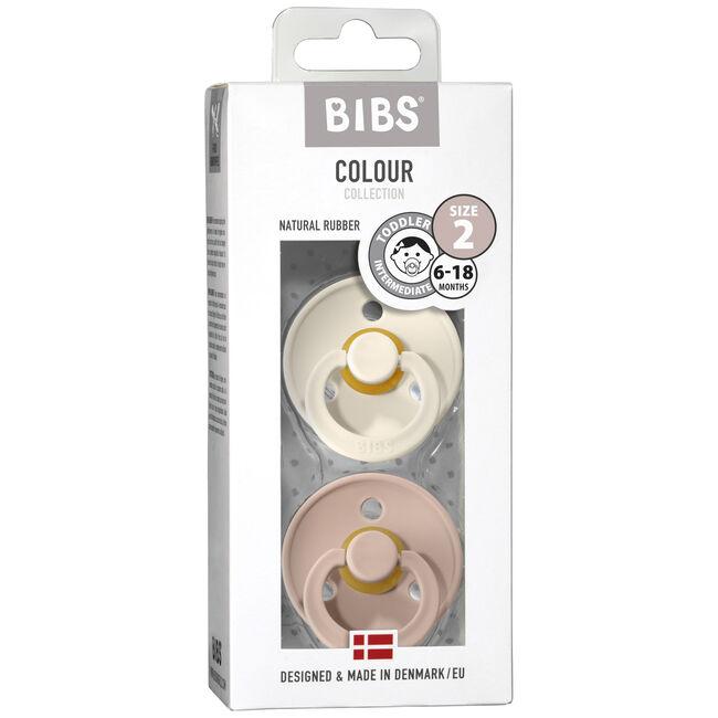 Bibs fopspeentje Size 2 - Ivory / Blush