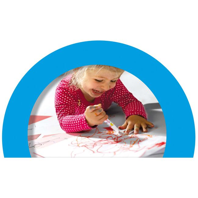 SES My First babymarkers - 8 viltstiften -