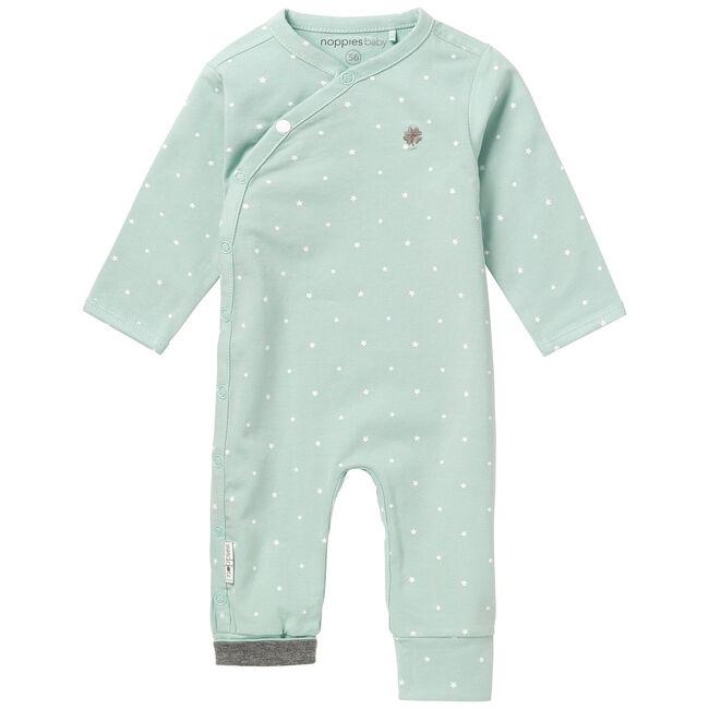 Noppies newborn unisex playsuit - Light Mint Green