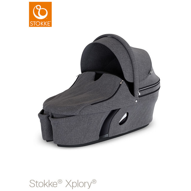 Stokke Xplory V6 reiswieg - Black Melange