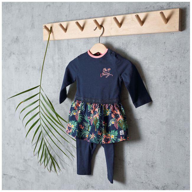 Prénatal baby meisjes jurk - Dark Blue