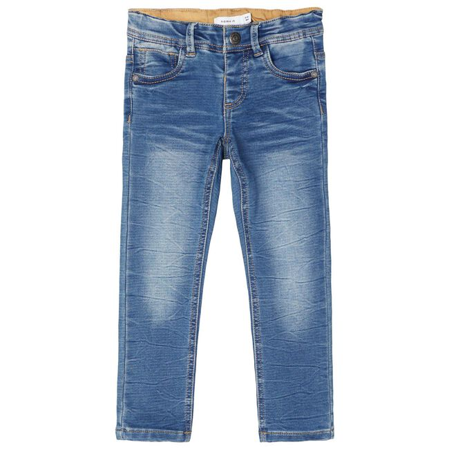 Name it peuter jongens broek - Mid Blue Denim