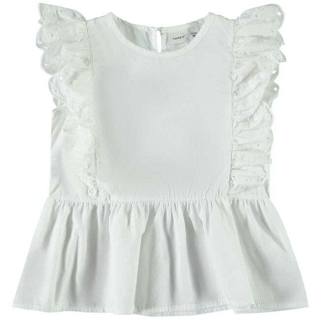 Name it peuter meisjes blouse - Off-White