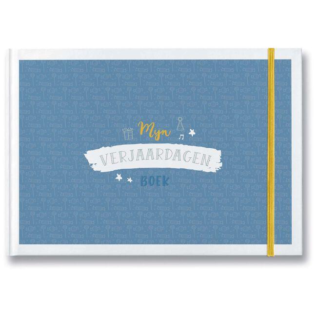 Maan mijn verjaardagenboek - Blue
