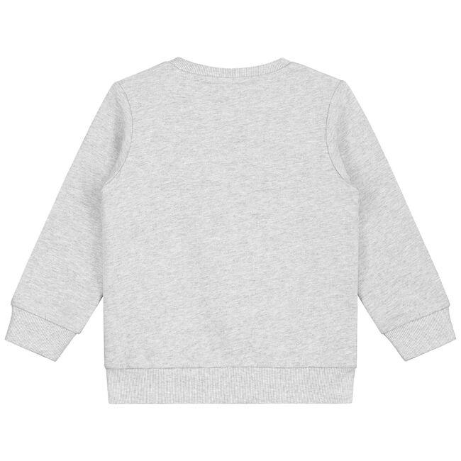 Prénatal peuter jongens sweater - Mid Grey Melange