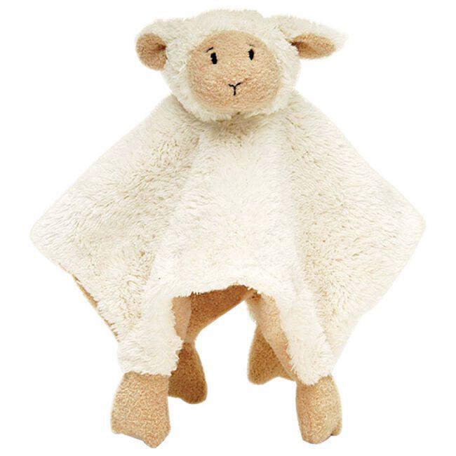Happy Horse Lammy knuffeldoekje - White