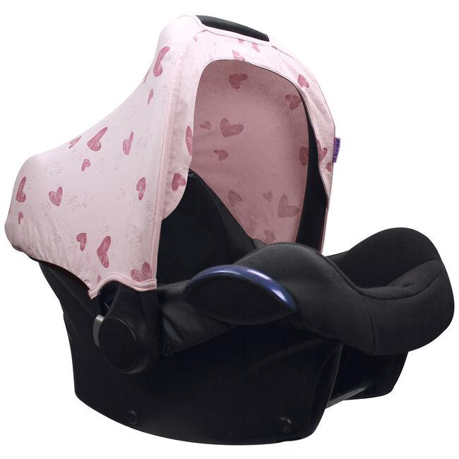 Dooky hoody zonnekap by Prenatal - Pink Heart