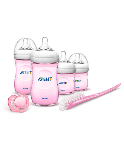 Philips AVENT natural starterset - Pink