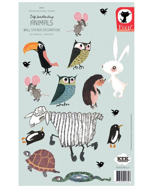 KEK stickers dieren klein - Geen Kleurcode