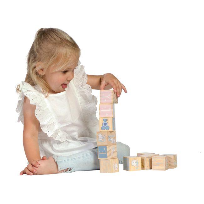 Woezel en Pip houten blokken - Multi