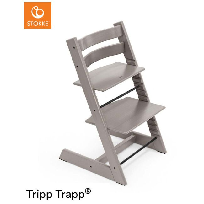 Stokke Tripp Trapp Oak - Grey Wash
