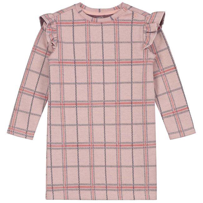 Prenatal baby meisjes jurk - Dark Sugar Pink