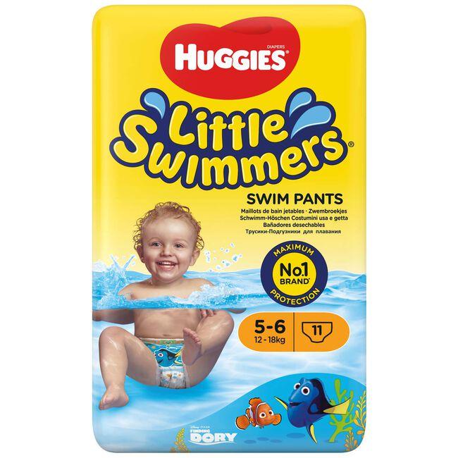 Huggies Little Swimmers zwemluiers maat 5-6 (12-18kg) - Gold