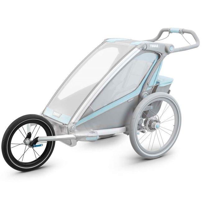 Thule fietskar Jogging Kit voor Chariot 1 - Silver