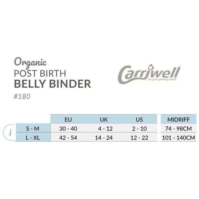 Carriwell Belly Binder sluitband - Skin Piink
