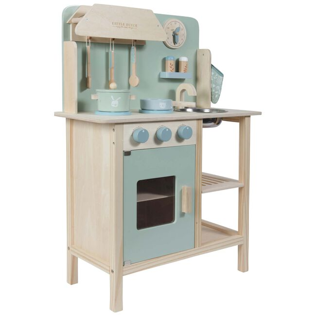 Little Dutch Houten Keuken Mint - Mintgreen
